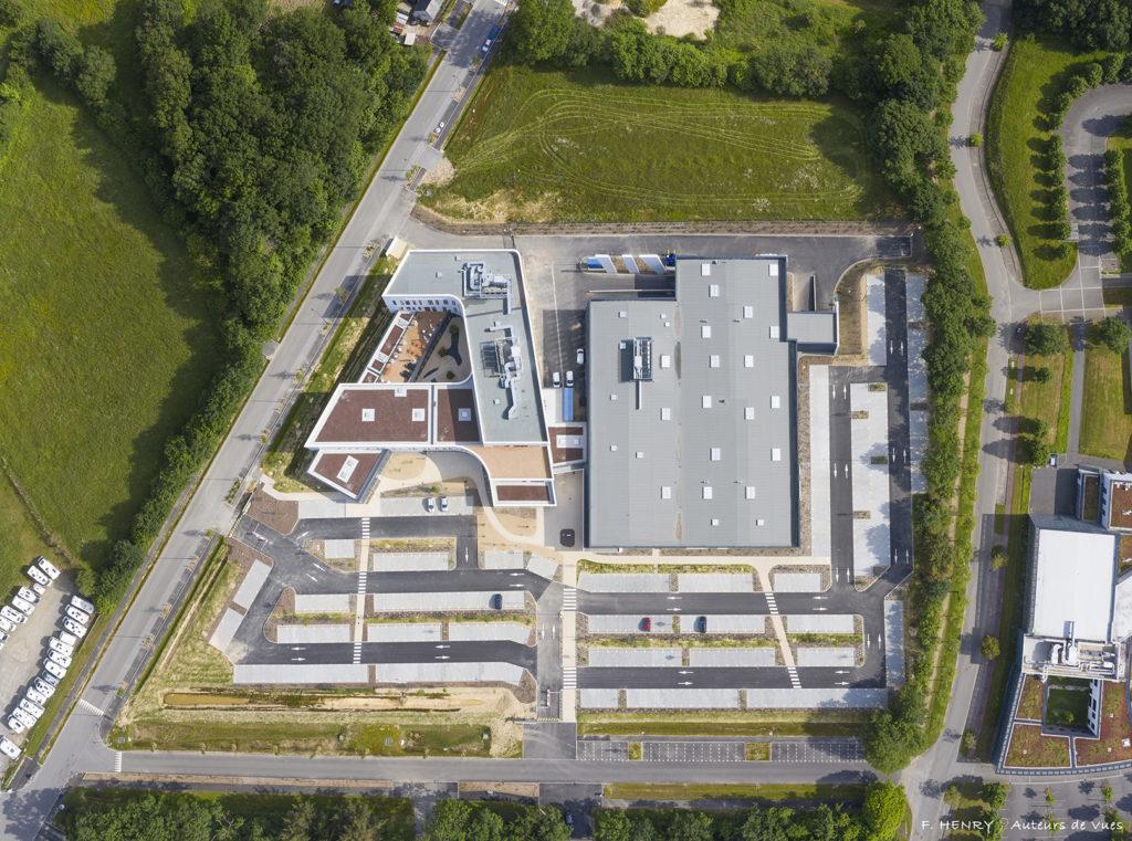 groupe bardon espace engineering architecture tertiaire bureaux avem industie logistique rennes bruz kerlann bretagne construction
