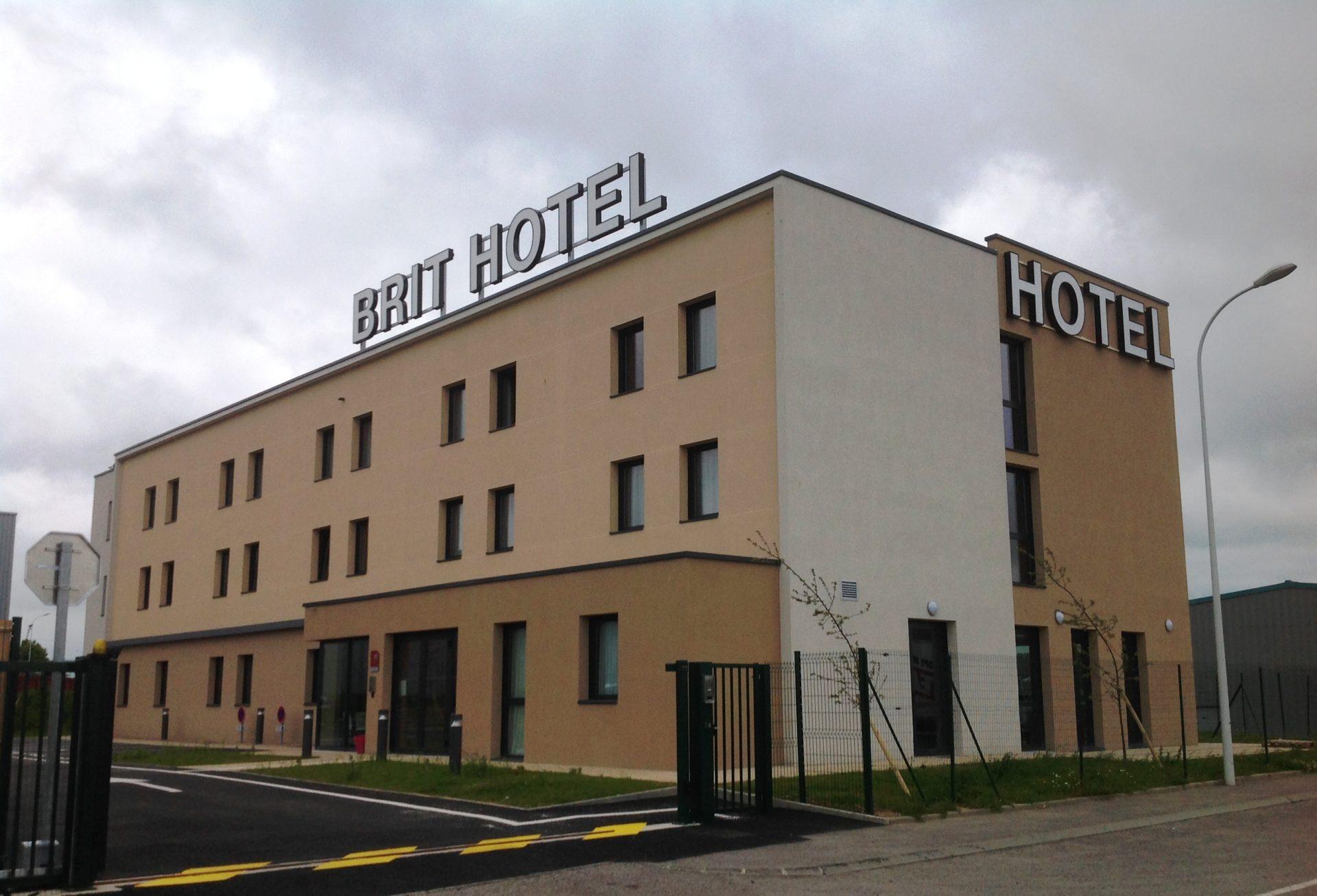 Brit Hotel à Dieppe (76)