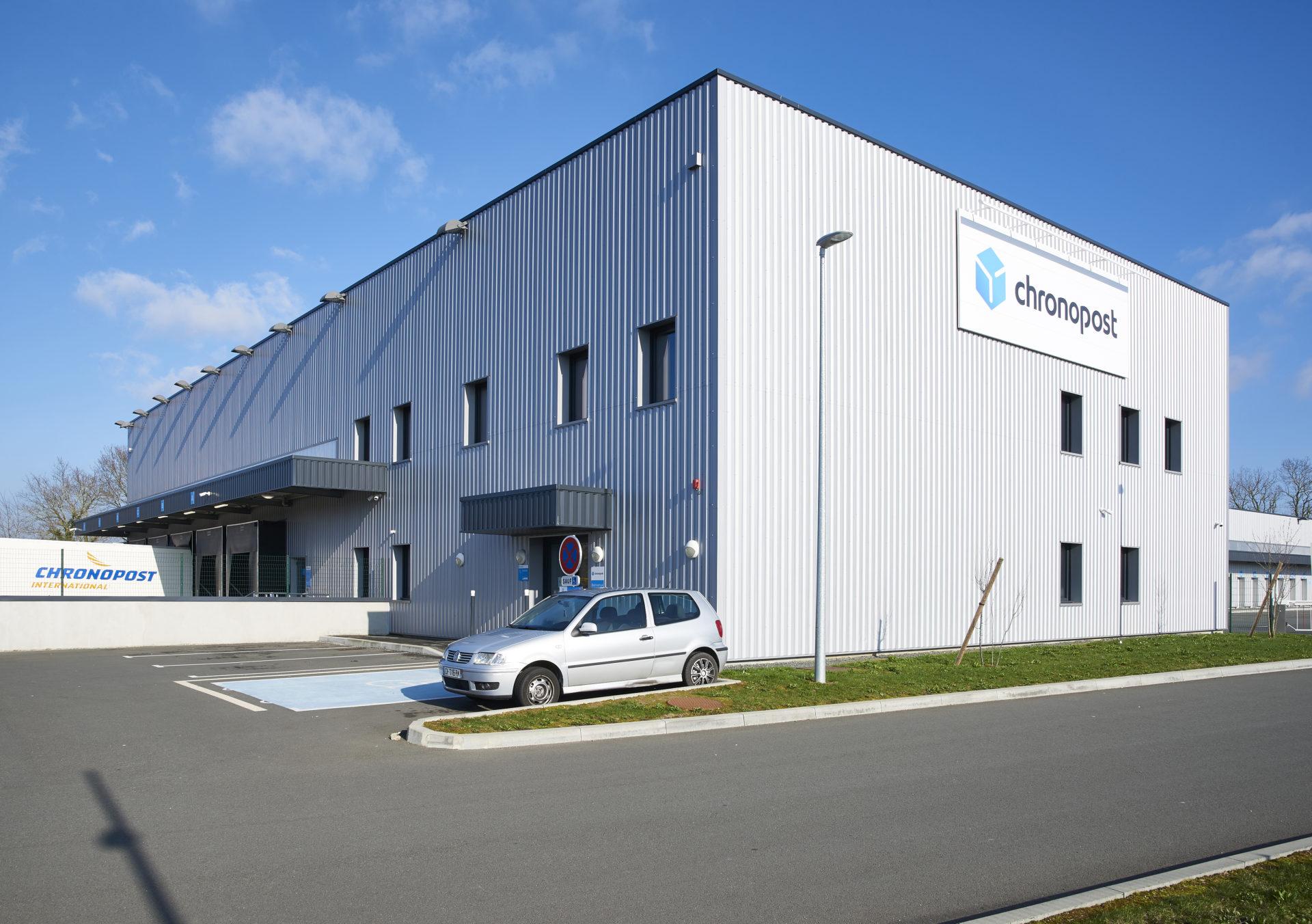 Plateforme Logistique Chronopost Groupe Bardon