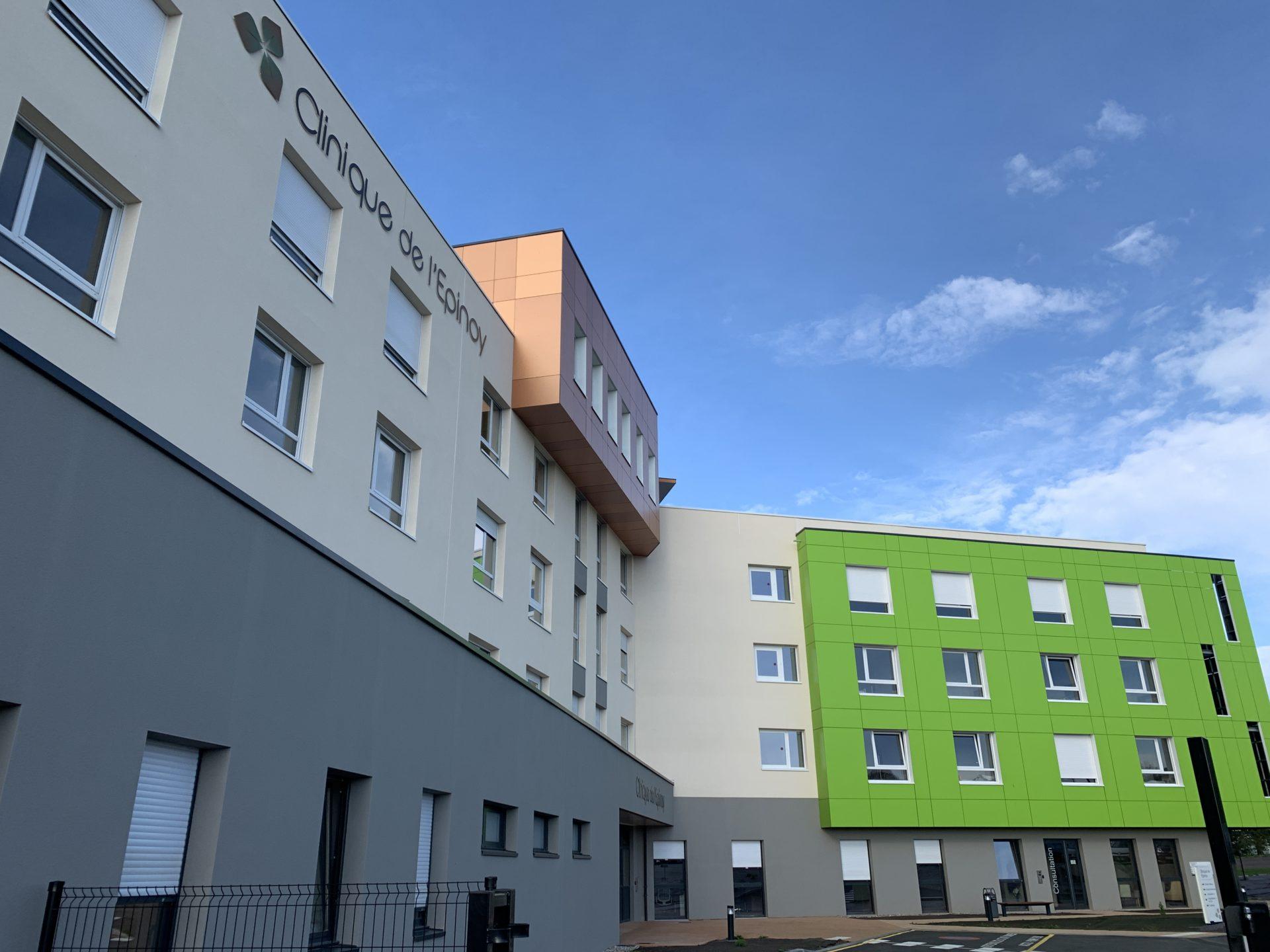 Clinique de L'Epinoy à Cambrai (59)