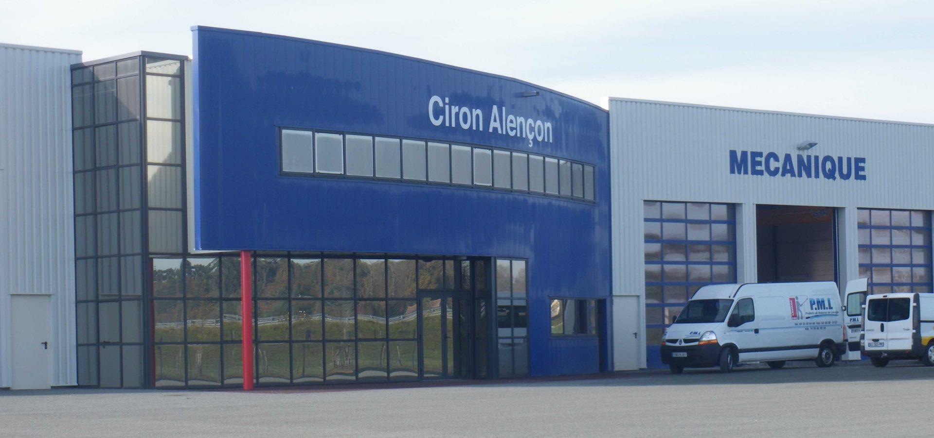 Ciron DAF à Alençon (61)