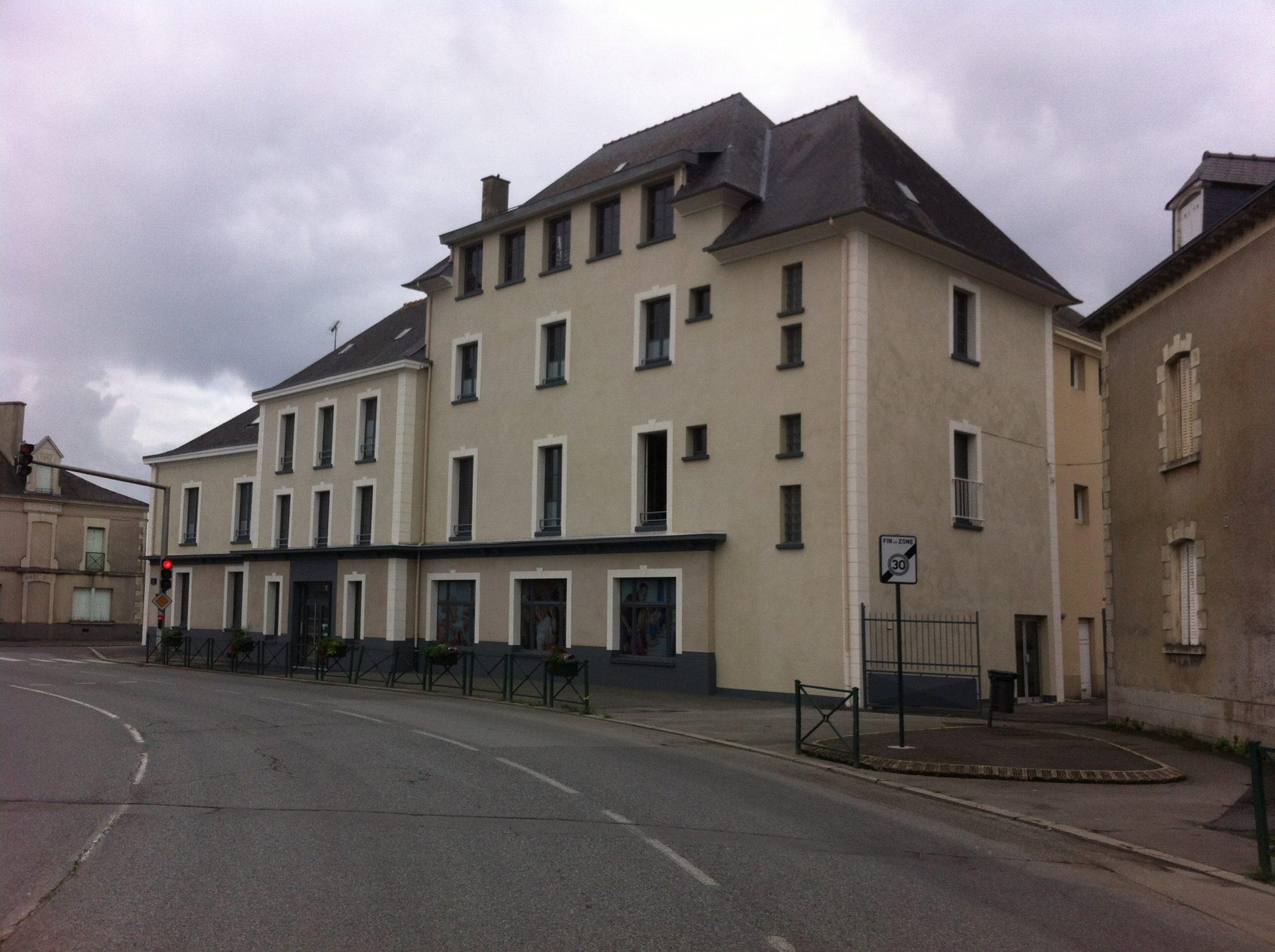 Lycée Antoine de Saint-Exupéry à La Guerche de Bretagne (35)