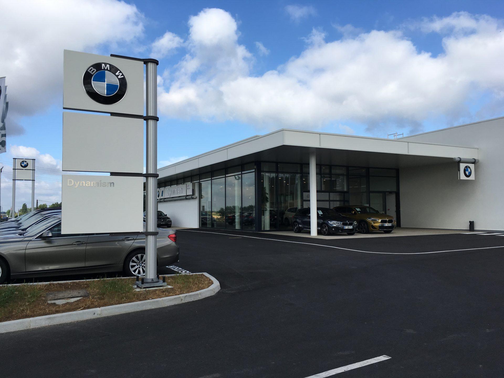Concession BMW et MINI à Saumur (49)